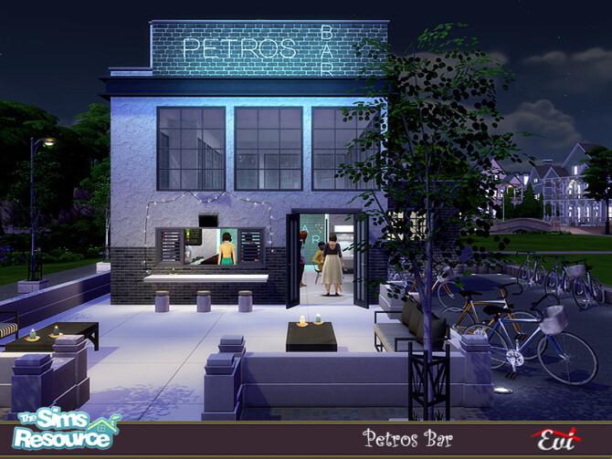 Sims 4 Petros Bar by evi at TSR