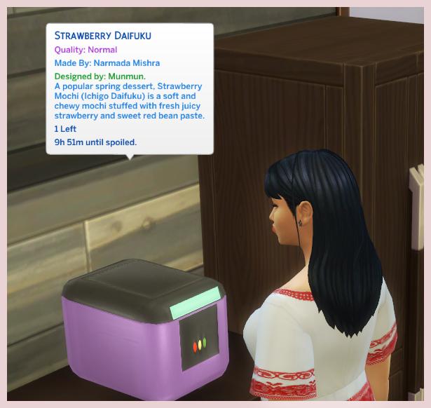 Sims 4 MOCHI MAKER at Icemunmun