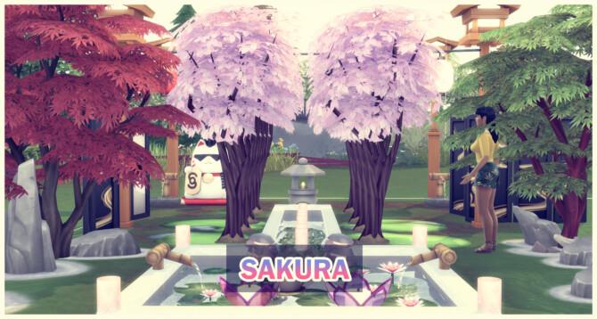 Harvestable Sakura Tree
