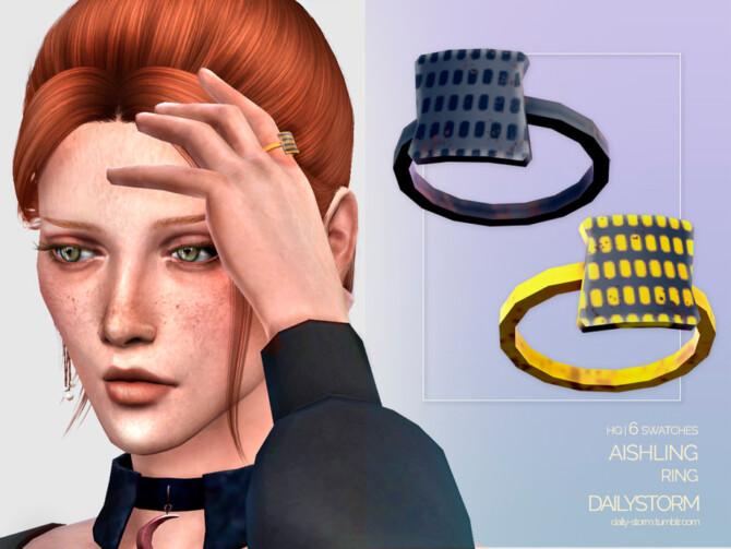 Sims 4 Aishling Ring by DailyStorm at TSR