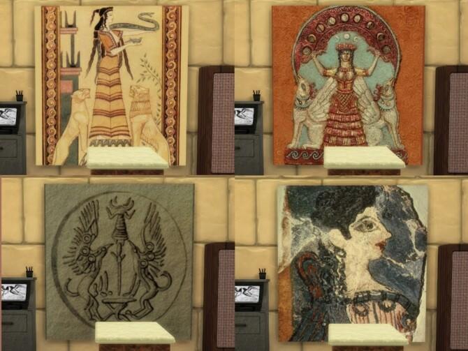Sims 4 Ancient Vet set at KyriaT's Sims 4 World