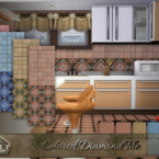 Colored Diamond Tile By Emerald
