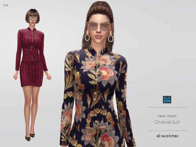 Sims 4 Suit at Elfdor Sims