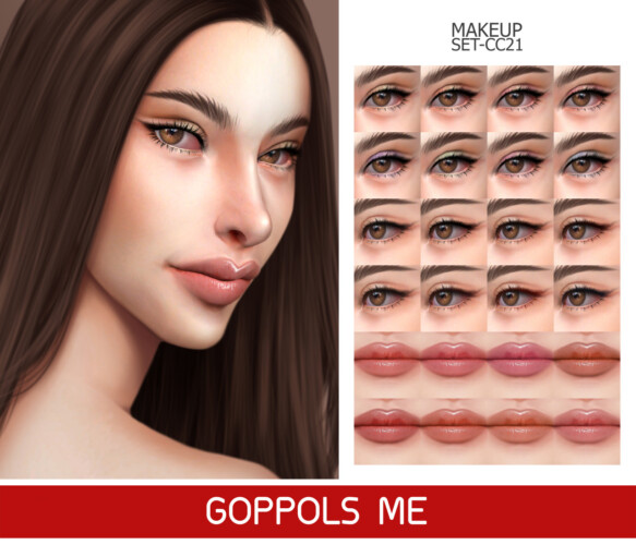 Gpme-gold Makeup Set Cc21