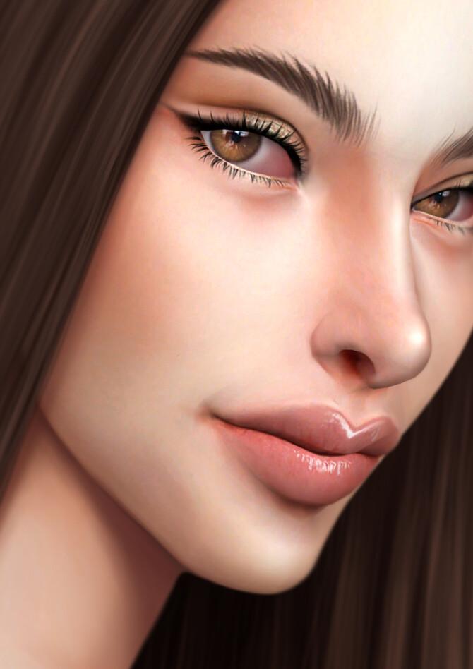 Sims 4 GPME GOLD MAKEUP SET CC21 at GOPPOLS Me