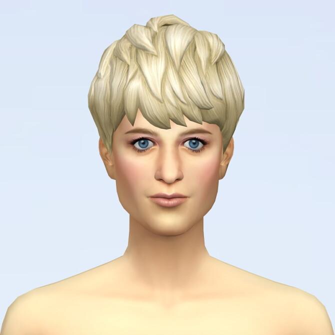 Sims 4 Diana Hair 3 at Rusty Nail