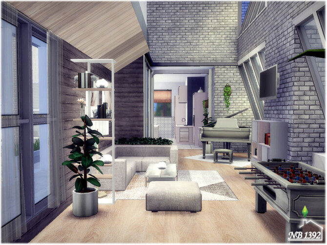 Sims 4 Invitation house by nobody1392 at TSR