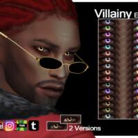 Villainy Eyes By Evilquinzel