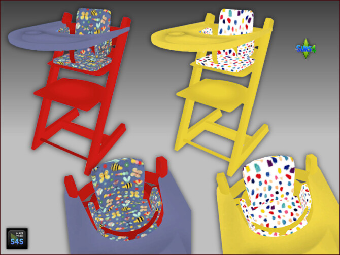 Sims 4 High chairs for toddlers at Arte Della Vita
