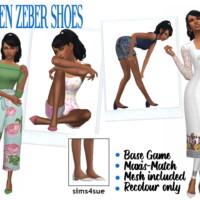 Madlen's Zeber Shoes
