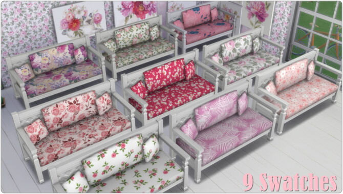 Sims 4 Pink Livingroom Collection at Annett's Sims 4 Welt
