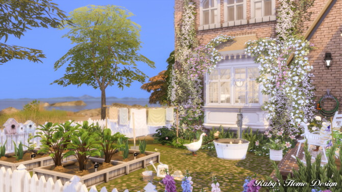 Sims 4 Country Dreams 5 house at Ruby Red