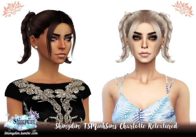 Tsminhsims Charlotte Hair Retexture