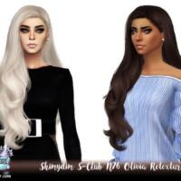 S-club N76 Olivia Hair Retexture