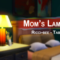 Mom's Table Lamp