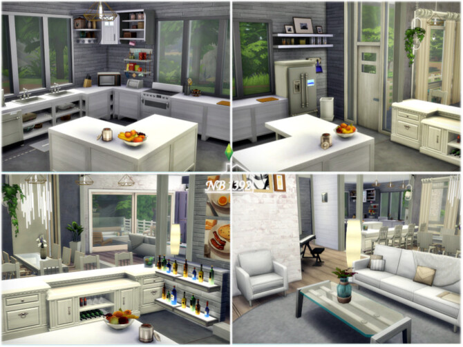Sims 4 Solace house by nobody1392 at TSR