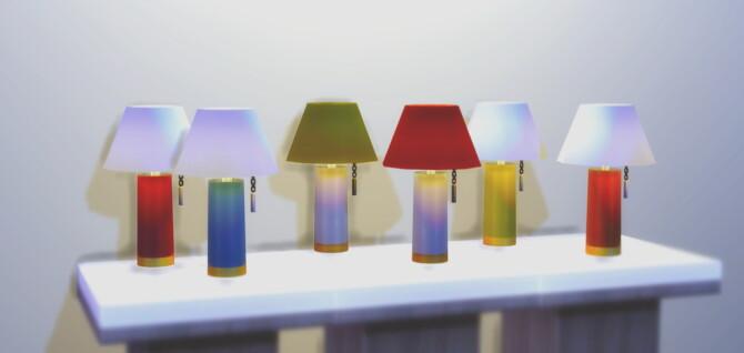 Sims 4 Moms table lamp at Ricci Bee