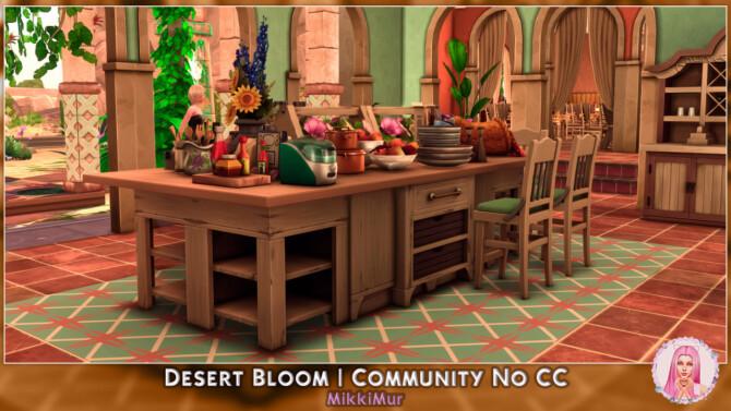 Sims 4 Desert Bloom at MikkiMur