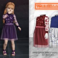 Annasophia Transparent Dress (#17)