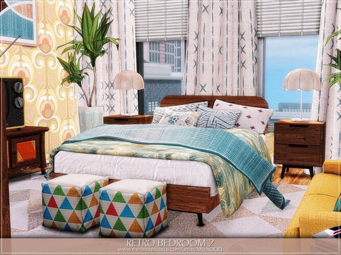 Retro Bedroom 2 By Mychqqq