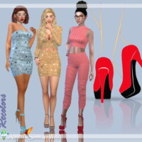 Astya96 April & March Collection 2021 Recolors