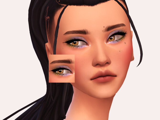 Sims 4 Salve Eyeshadow by Sagittariah at TSR