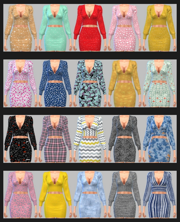 Sims 4 Astya96 April & March Collection 2021 Recolors at Annett's Sims 4 Welt