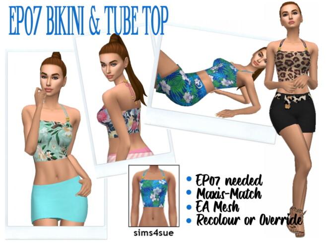 Ep07 Bikini & Tube Top