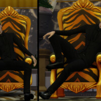King Pose Pack By Yanisim