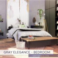Gray Elegance Bedroom By Lhonna