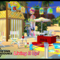 Living It Up Outdoor Set By Seimar8