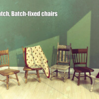 Batch-fixed Chairs