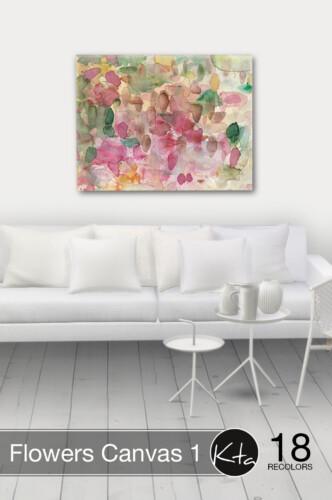 Flowers Canvas 1