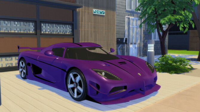 Sims 4 2016 Koenigsegg Agera RS at Modern Crafter CC