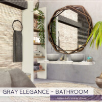 Gray Elegance Bathroom By Lhonna