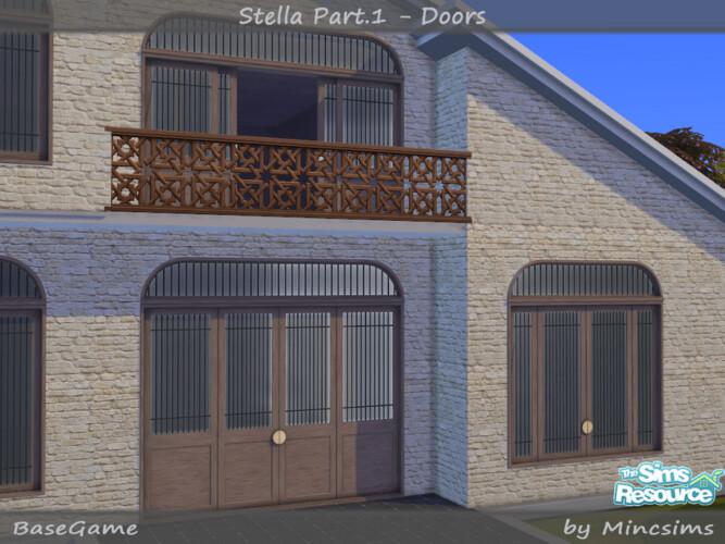 Stella Part.1 Doors By Mincsims