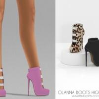 Olanna Boots High Heels