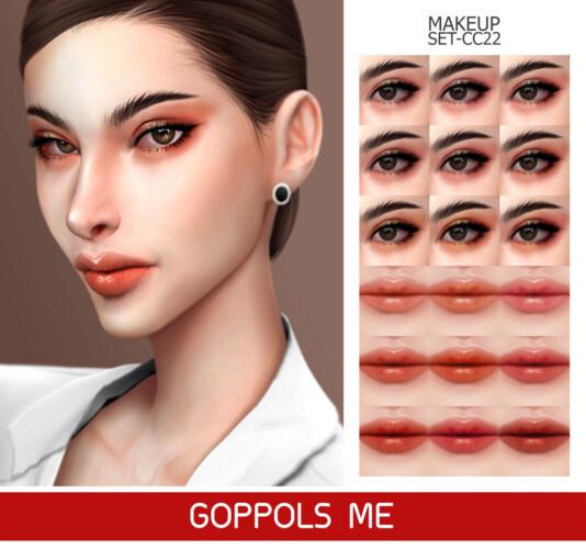 Gpme-gold Makeup Set Cc22
