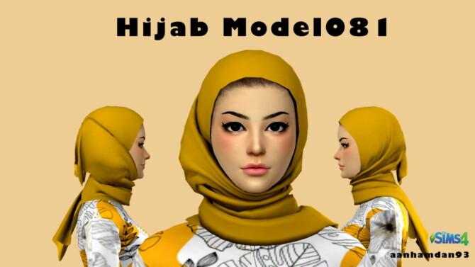 Sims 4 Hijab Model081 & 082 With Raina SET at Aan Hamdan Simmer93
