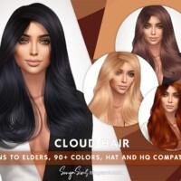 Cloud Straight Medium Hair