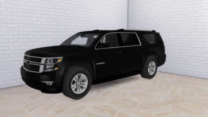 Sims 4 2020 Chevrolet Suburban at Modern Crafter CC