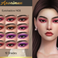 Eyeshadow N08 By Anonimux Simmer
