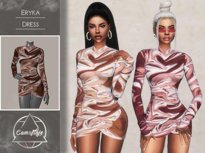 Eryka Dress By Camuflaje