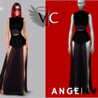 Angelived Collection Set I By Viy Sims