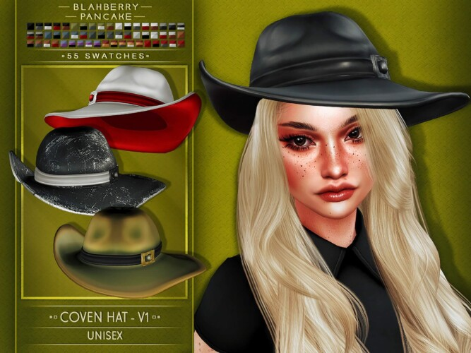 Coven Hat Set 5 Versions