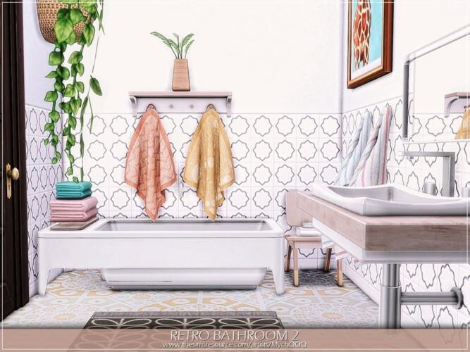 Retro Bathroom 2 By Mychqqq