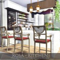 Rosa Kitchen By Rirann