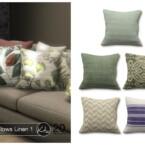Sofa Pillows Linen 1