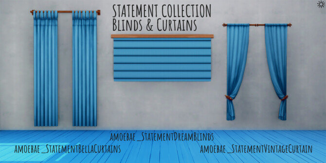 Statement Collection Pt 1 – Curtains & Blinds