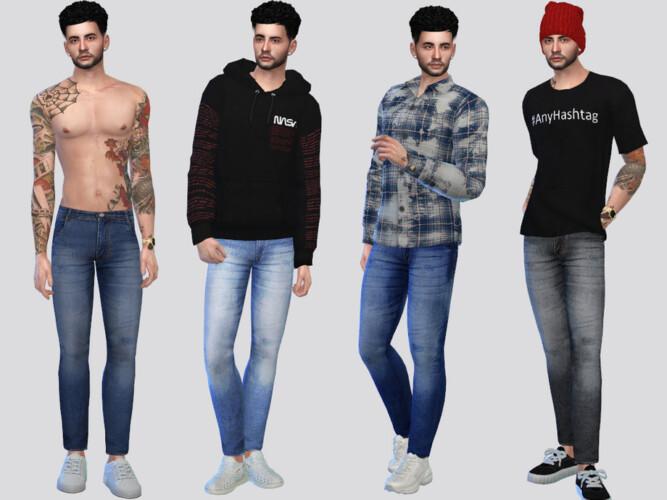 Zamyr Basic Jeans By Mclaynesims